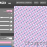 Online tool to Create Custom Patterns