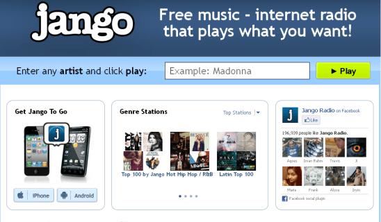 Jango - Internet Radio