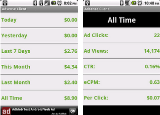 Adsense Client Android Apps