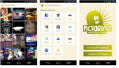 Pictarine (Facebook, Twitter) - Android Apps on Google Play