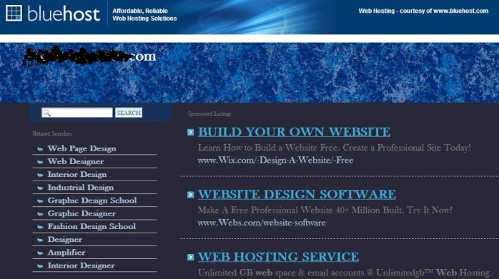 Hosting account Sub Domain