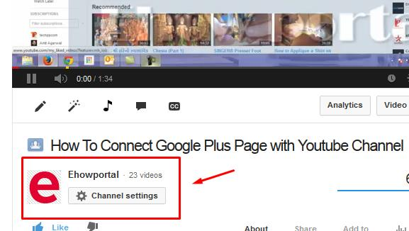 Updated Google+ Page name on Youtube Videos