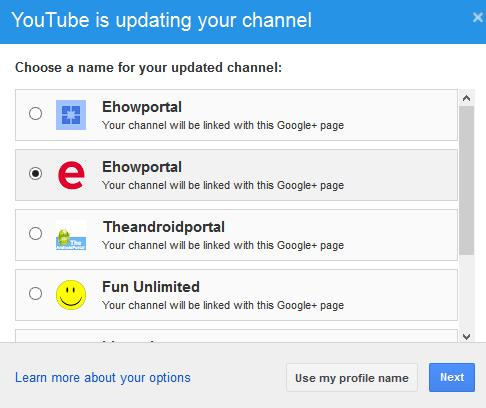 Youtube is updating your channel