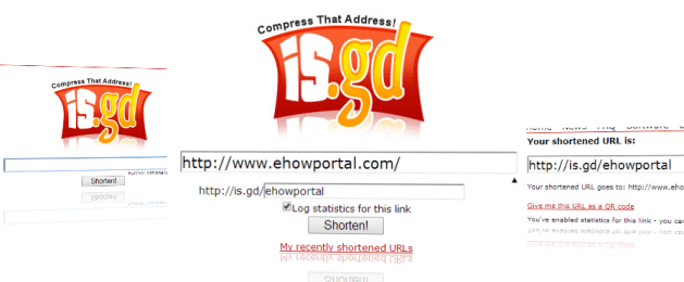 is.gd - a URL shortener