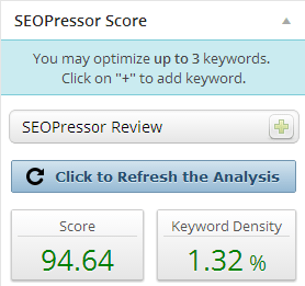 SEOPressor for WordPress