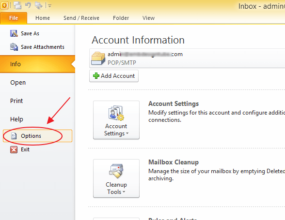 Set Auto Correction and Spell Check in Microsoft Outlook