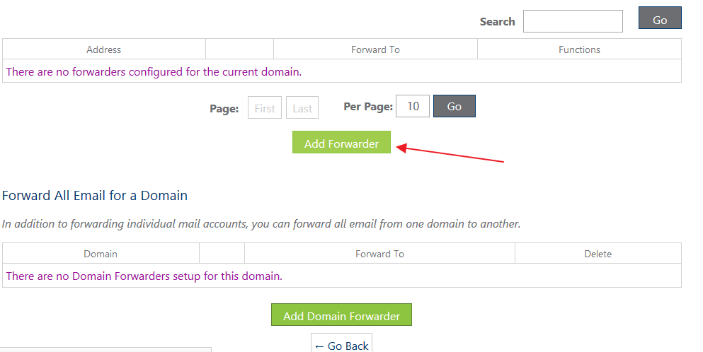 Email Account Forwarders Configuration on Bluehost