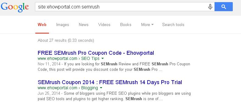Google Blog Search Tool