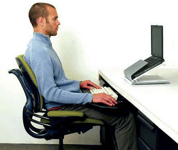 Proper Posture for Sitting at Desk