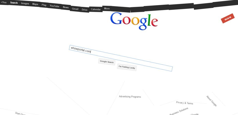 Anti Gravity Google