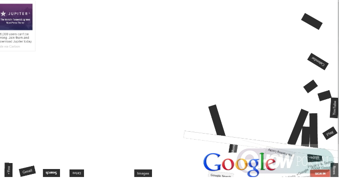 Google Flat Fall