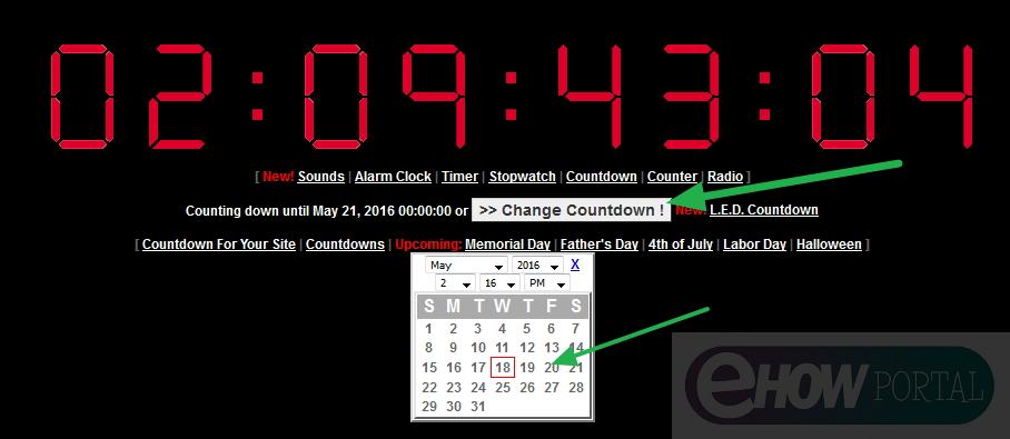 Online Countdown Timer