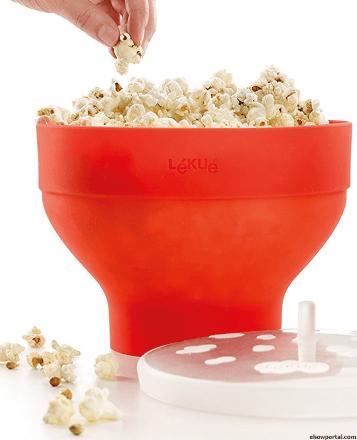 Lekue Microwave Popcorn Popper