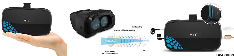 MTT 3D VR Headset Advanced Virtual Reality