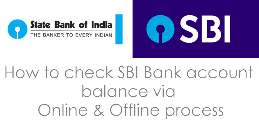 SBI Online Balance Enquiry