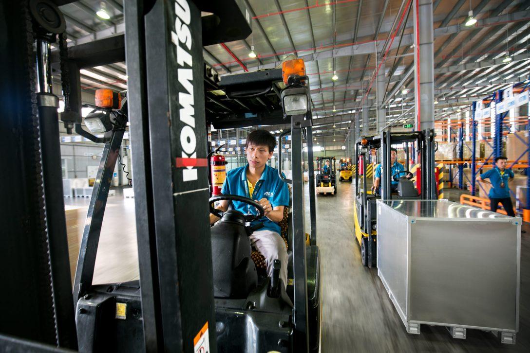Forklift Photograph