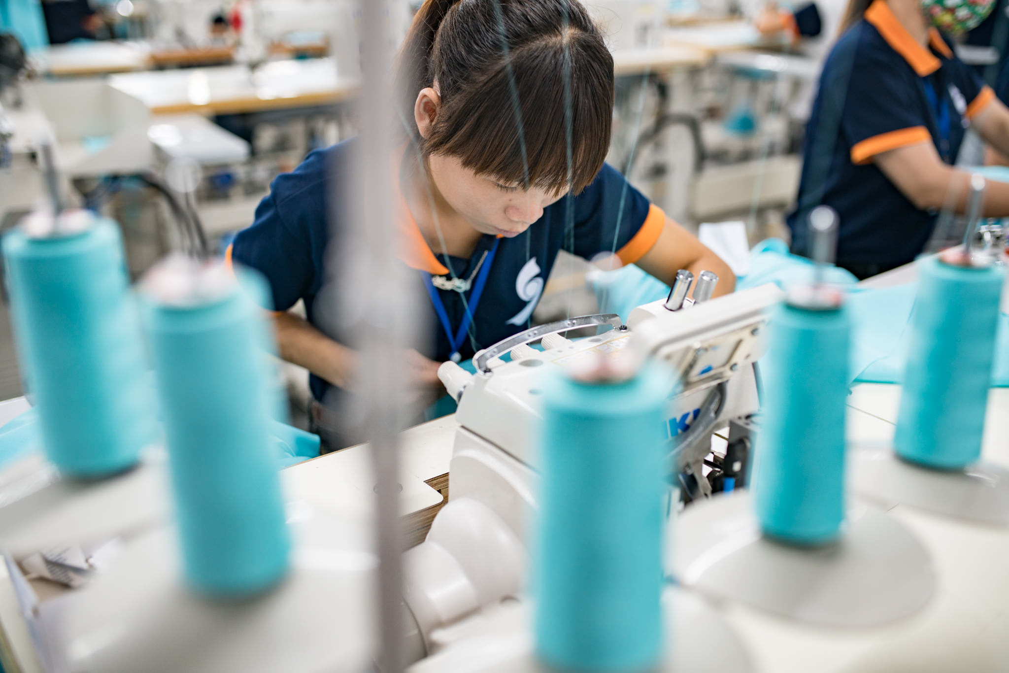Vietnam Photographer | Factory Photography and Textile