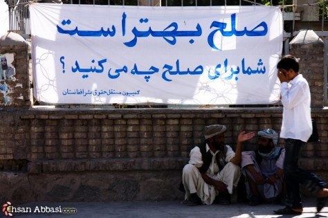 Awareness of Peace in Herat