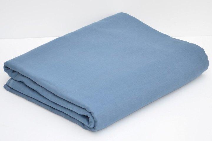 Light Blue Grey Full Voile Turban Cloth