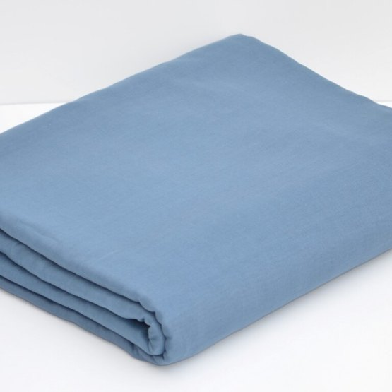 Light Blue Grey Full Voile Turban Cloth