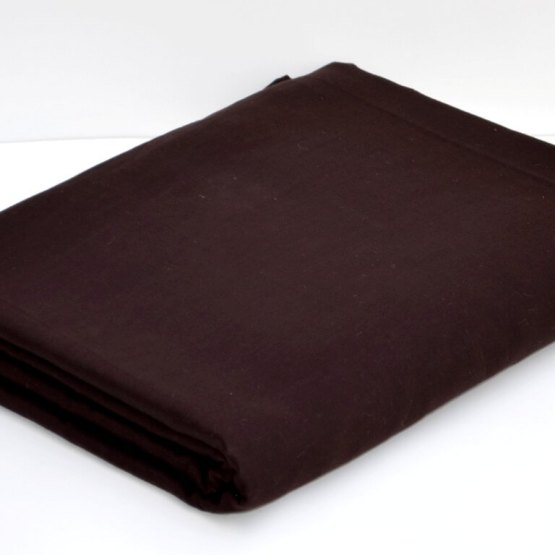 Buy Dark Brown Color Full Voile Fabric