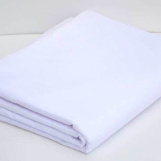 Buy White Color Full Voile Fabric