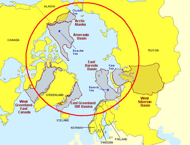 Image result for arctic circle map