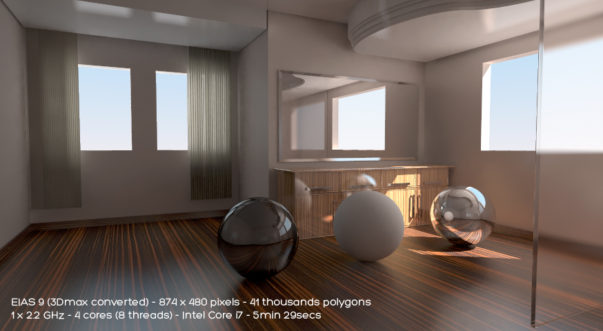 Global Illumination EIAS3D