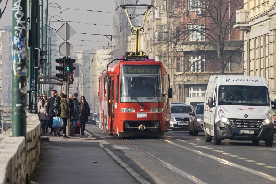 Bosnia and Herzegovina: EIB provides €40 million for improving the urban transport network in the Canton of Sarajevo