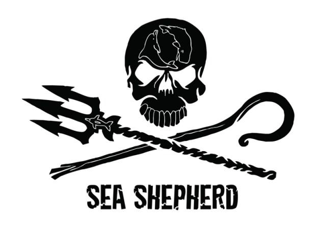 logo della marca che si chiama Sea Shepherd
