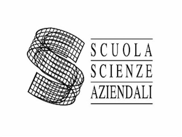 logo della marca che si chiama Scuola Scienze Aziendali