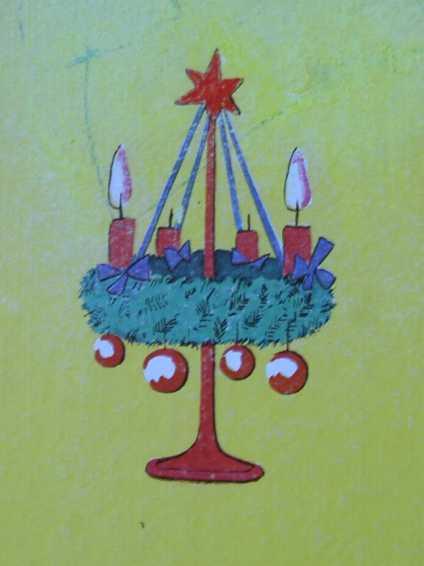 Advent Advent Bilderbuch 60iger
