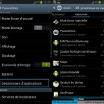 gestionnaire appli android