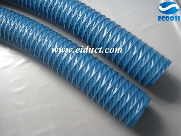 pvc fabric hose duct hose factory