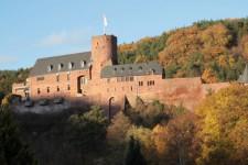 Die Kunstakademie auf Burg Hengebach ist ein Erfolgsmodell. Rund 700 Teilnehmer besuchten im vergangenen Jahr 90 Seminare und Workshops. Bild: Michael Thalke