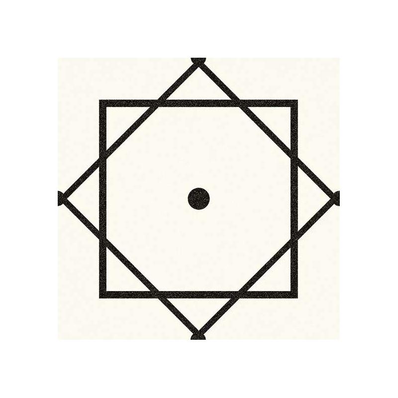 alameda eliseos blanco carrelage aspect carreaux de ciment motif geometrique