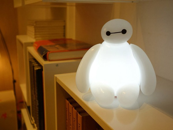 Baymax LED Lamp2