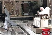 Papal breakdancing
