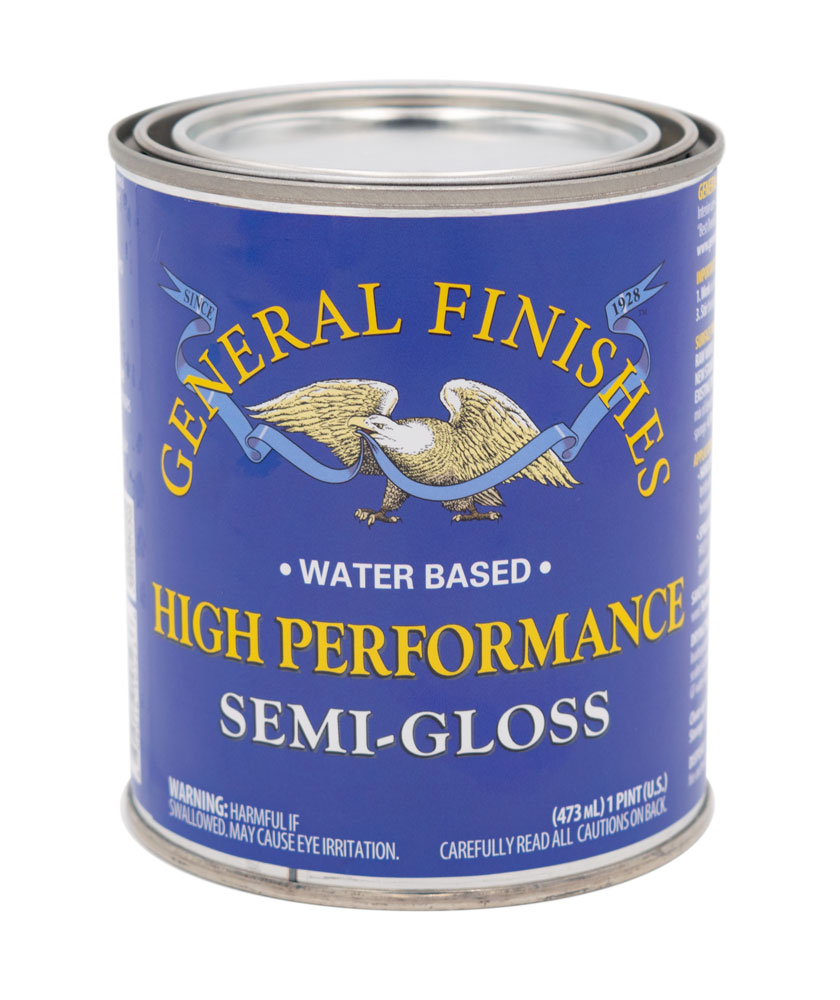 General Finishes Semi Gloss High Performance Topcoat, Eight Hundred Furniture