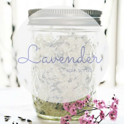 3 Step Lavender Salt Scrub