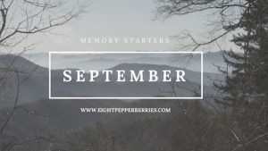 September Journal Prompts