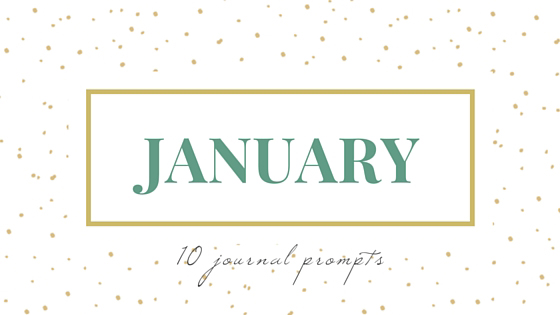 Eight Pepperberries >> January journal prompts + printable