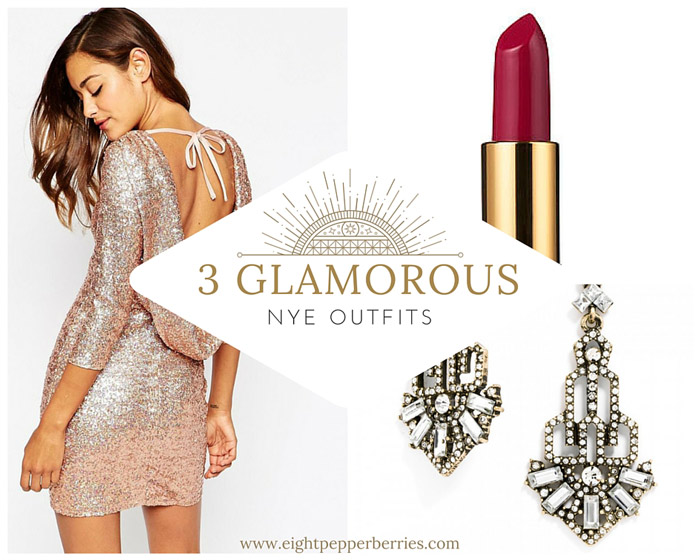 3 Glamorous New Years Eve Outfits