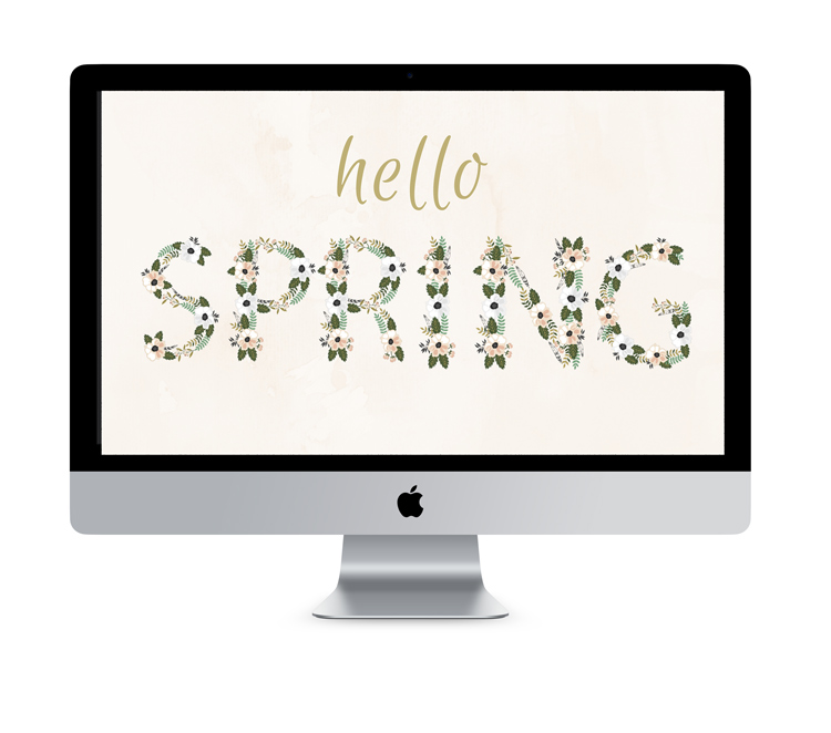Hello Spring! [wallpaper freebie]