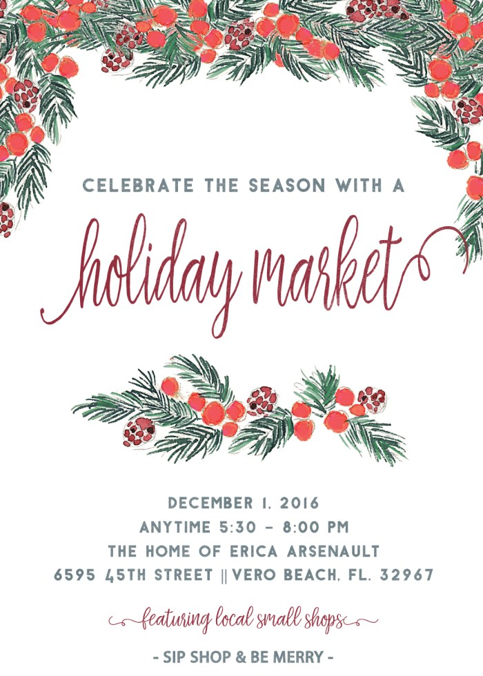 holiday-market-invitaiton