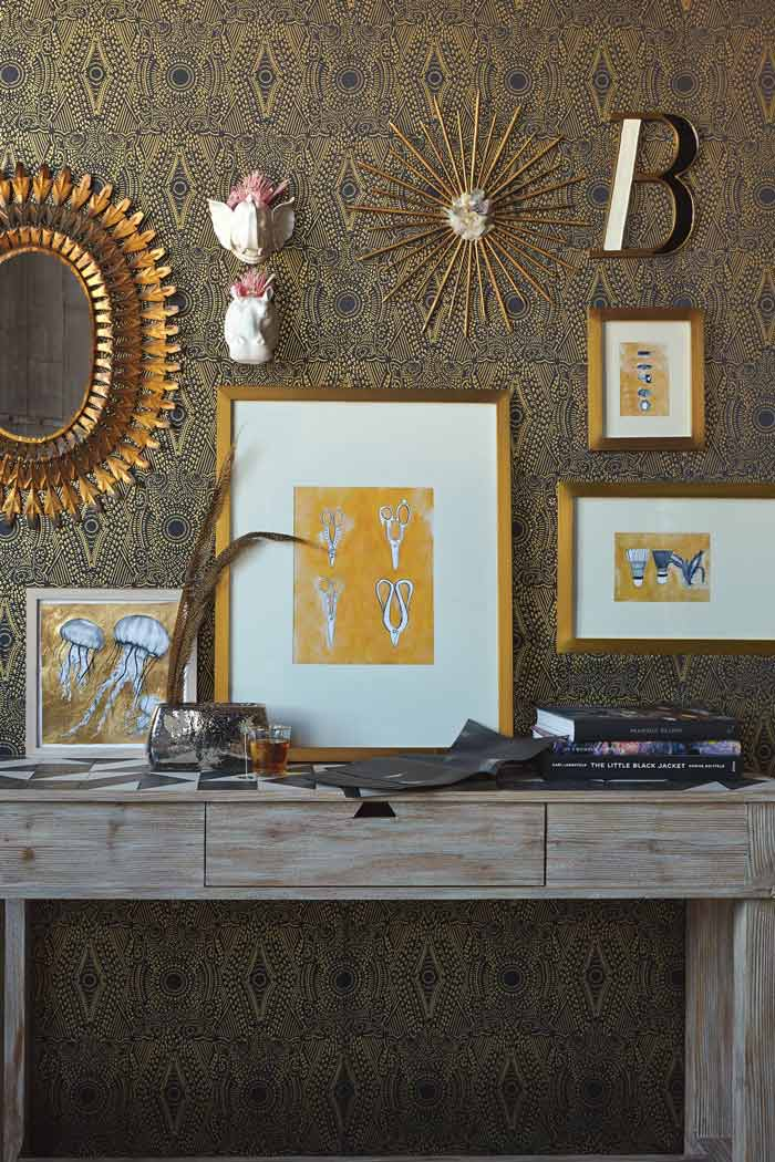 12 Brass and Gold Frames To Swoon over >> Eight Pepperberries