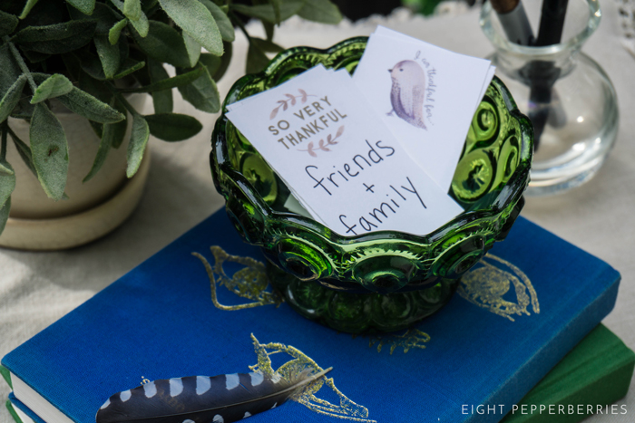 A Thankful Heart   Free Printable Gratitude Tags for Thanksgiving >> Eight Pepperberries