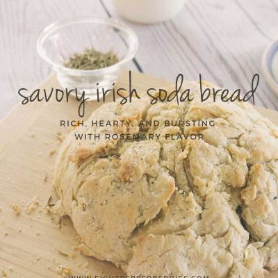 Savory Rosemary Irish Soda Bread
