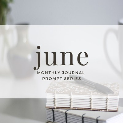 June 2017 Journal Prompts. New prompts released the beginning of each month >> www.eightpepperberries.com