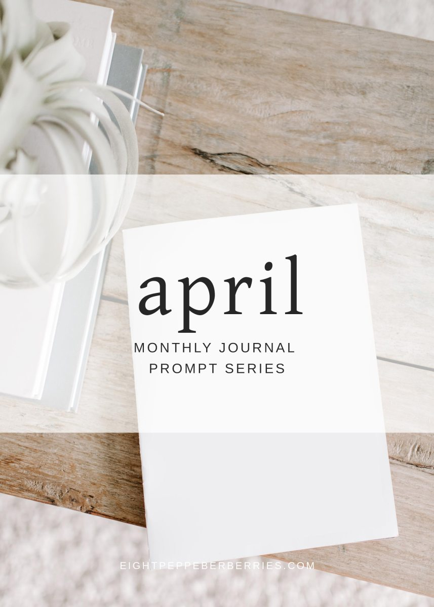 Journal Prompts April 2018 Edition